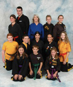American Tiger Martial Arts GOLD Team